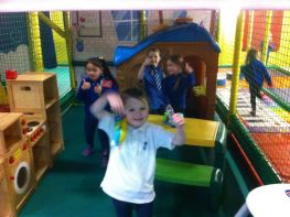 Primary 2 Fun at Funky Monkeys!