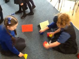 Numeracy time in Primary 2