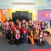 Primary 2 had great fun at the Halloween disco!!