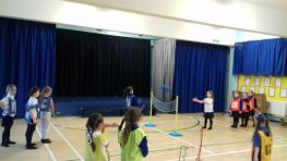 P2 learning some new skills in PE
