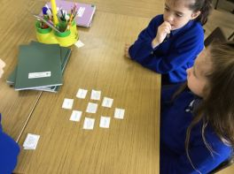 Thinking Skills and Group Work in P5.