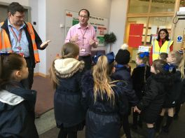 P3, Miss Campbell - Visit to the post office