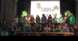 St Patrick's Day Celebrations for Primary 7