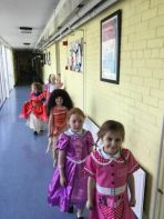 Dress-up for Golden Time in P2