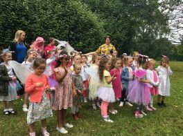 Fairies at Mercy Primary!