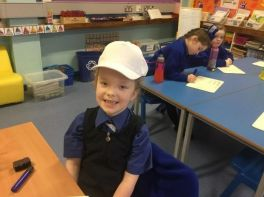 P3 Put their Thinking Hats On!