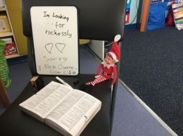 P7's Elf Loves to Learn!