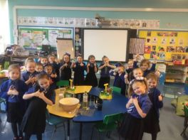 Making Snow Dough Slime in P2