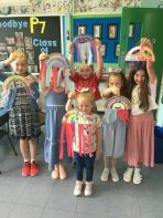 Art and crafts at Mercy Summer Scheme