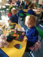 Primary 2 explore Space and Shape
