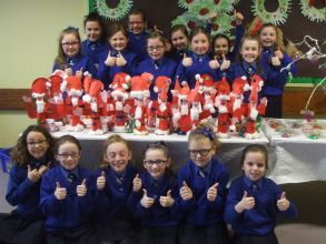 Christmas Crafts in Primary Five