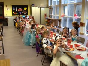 'Once upon a time' banquet in Primary One