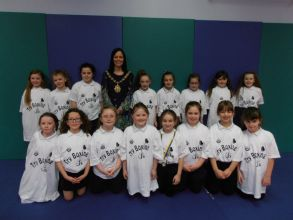 Primary four meet Lord Mayor